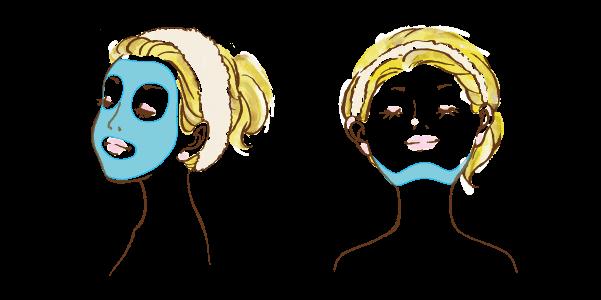 顔脱毛の照射範囲