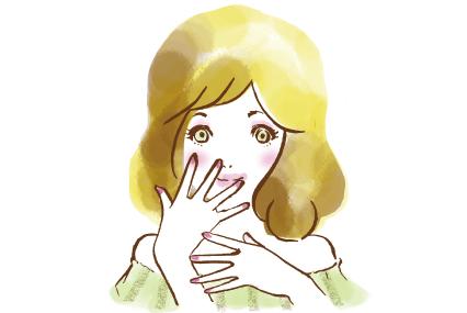 手を見せる女の子
