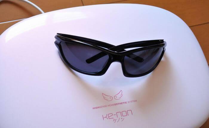 ケノン購入時に付属でついてくるサングラス